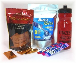 VITAZEST Chocolate Bundle & Water Bottle